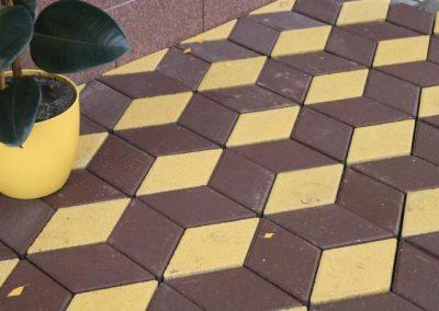 """тротуарная плитка """"Ромб"""""""