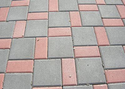 """тротуарная плитка """"Кирпичик"""" в Одессе"""