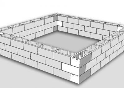 опалубочный блок